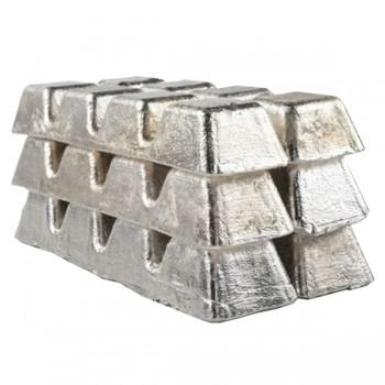 Чушка алюминиевая силумин АК12оч ГОСТ 1583-93