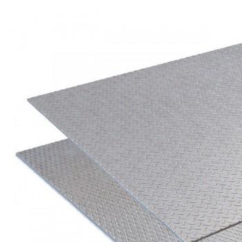 Лист рифленый нержавеющий 08Х18Н10 4х1000х2000 мм