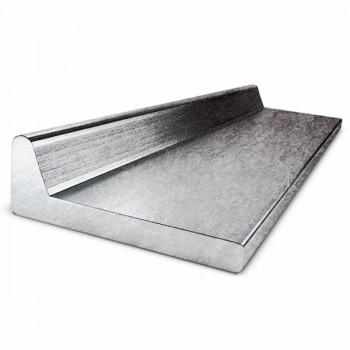 Полособульб алюминиевый г/к 1561 ГОСТ 21937-76 НП712-2 №10 несимметричный