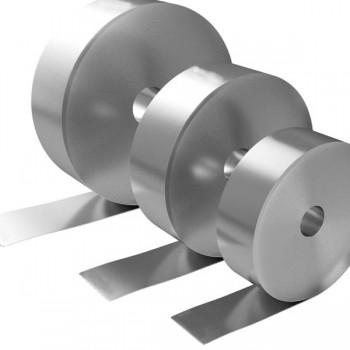 Рулон нержавеющий зеркальный AISI 201 BA 0,9х1000 мм