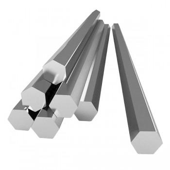 Шестигранник алюминиевый прессованный АД31 27 мм ГОСТ 21488-97
