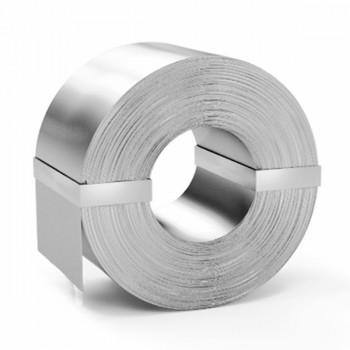 Штрипс нержавеющий декоративный AISI 430 LINEN 0,4 мм