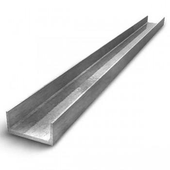 Швеллер алюминиевый прессованный АД31Т 100х50х5 мм ГОСТ Р 50066-92