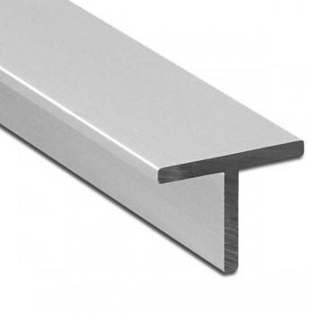 Тавр алюминиевый АД3Т1 50х25х2 мм