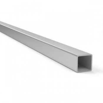 Труба профильная квадратная нержавеющая AISI 201 25х25 мм