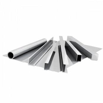 Уголок алюминиевый неравнополочный 1561 411190 6000 мм (ПР101-17, 75х30х5х5)