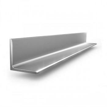 Уголок алюминиевый равнополочный прессованный АМг5 25х25х3 мм ГОСТ 13737-90